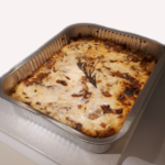 Lasagna Tray: White Onion Parmigiana