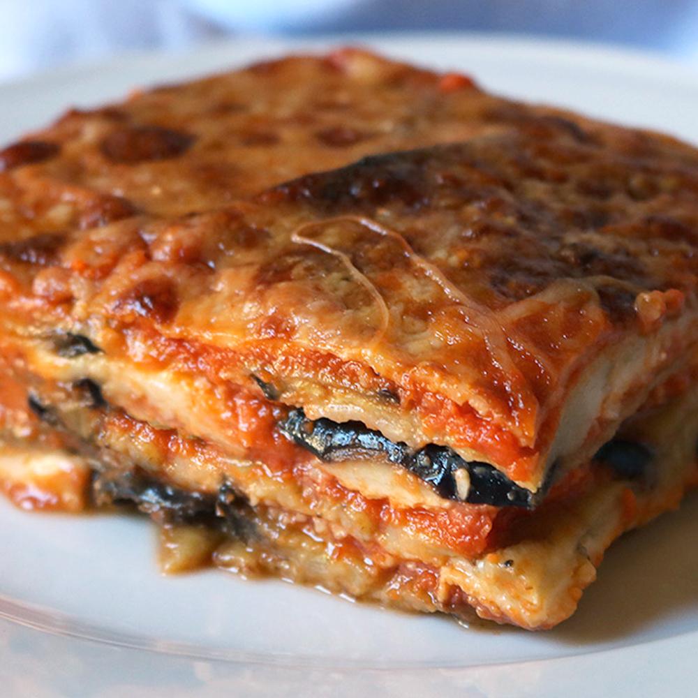 Lasagna Tray: Aubergine parmigiana