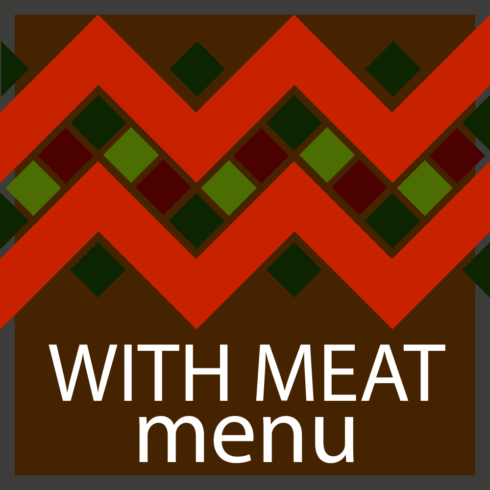 with meat Saturday Menu