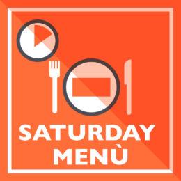 saturday menu